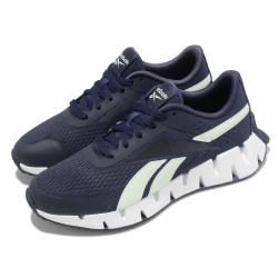 Reebok 慢跑鞋 Zig Dynamica 運動 女鞋 輕量 透氣 舒適 避震 路跑 健身 藍 白 S42638 [ACS 跨運動]