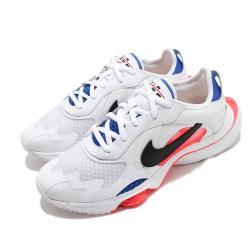 Nike 休閒鞋 W Air Zoom Division 女鞋 氣墊 舒適 緩震 潮流 穿搭 白 藍 CK2950101 [ACS 跨運動]