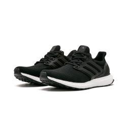 ADIDAS Ultra Boost 男鞋 慢跑 馬牌大底 編織 襪套 柔軟 緩震 黑 BA8924