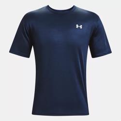 UNDER ARMOUR UA Training Vent Camo 男裝 短袖 排潮 透氣 運動 訓練 藍【運動世界】1361426-408