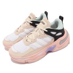 adidas 休閒鞋 Boujirun 厚底 運動 女鞋 愛迪達 舒適 避震 老爹鞋 穿搭 白 粉 GY5024 [ACS 跨運動]