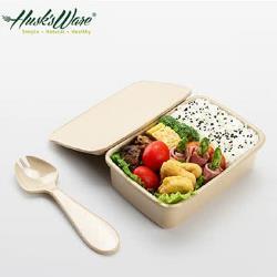 【Husk's ware】美國Husk's ware稻殼天然無毒環保便當盒-大