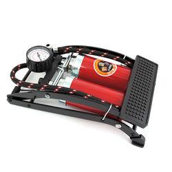 高壓雙管打氣筒-油壓式 汽車自行車氣球籃球充氣墊皆適用
