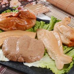 大嬸婆 祈福保庇素五牲禮(素雞+素肉+素魚+素鴨+素膽肝)