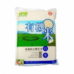 台糖 有機米-白米6包(2kg/包)