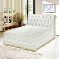 睡尚寶 星級飯店用-正三線3M防潑水蜂巢獨立筒床墊-雙人