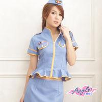 【天使霓裳】緝愛密令 警察制服 角色扮演(藍)-AL9177