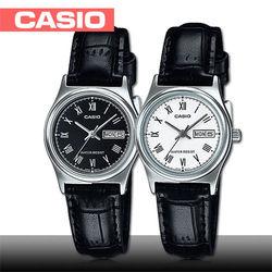 【CASIO 卡西歐】送禮首選-簡約造型皮革女錶_鏡面3x2.5cm(LTP-V006L)