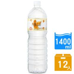 DRINK WATER丹楓之水 麥飯石礦泉水1400ml 12瓶x2箱