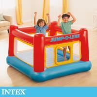 【INTEX】跳跳床-擂台 JUMP-O-LENE-寬174cm(48260)-行動
