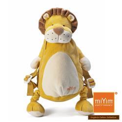 美國miYim有機棉 動物後背包 (里歐獅子)