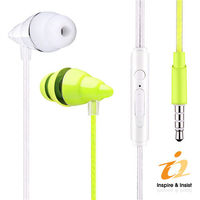 i2 貝殼線控耳機麥克風