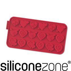 【Siliconezone】施理康耐熱矽膠愛情巧克力模