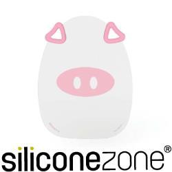 【Siliconezone】施理康耐熱粉紅小豬造型矽膠覘版