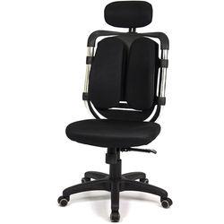 aaronation 愛倫國度 - 黑爪泡棉坐墊雙背式辦公電腦椅 (i-119HSG-1)
