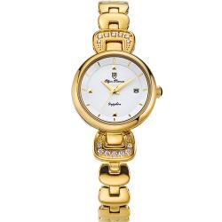 Olym Pianus奧柏表-愛鍊傳說晶鑽時尚腕錶 2468LK