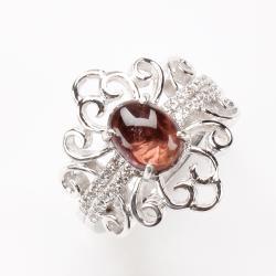 【寶石方塊】纖纖玉手天然碧璽戒指