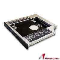 Awesome筆電升級專家 筆電光碟轉9.5mm硬碟(SATA)托盤模組-AWD-1S