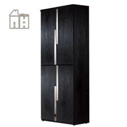 【AT HOME】艾克2.7尺黑色四門高鞋櫃