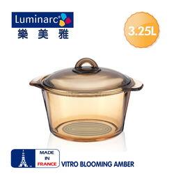 法國【樂美雅】Blooming 3.25L微晶透明萬用鍋
