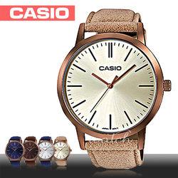 【CASIO 卡西歐】送禮首選-復古時尚風女錶_大鏡面4cm(LTP-E118RL-9A)