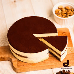 Room 4 Dessert 恬品軒 義大利提拉米蘇蛋糕  6吋