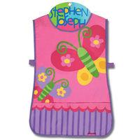 【Stephen Joseph】童趣造型防水圍裙-美麗蝴蝶