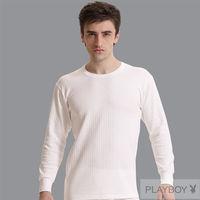 Pierre Cardin 2件組台灣製遠紅外線時尚純棉毛長袖圓領衛生衣(盒裝)pc1350
