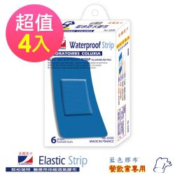 LaboRat那柏瑞特 藍色鋁膜防水膠布(超大)6片 5cm*10cm(4盒販售)