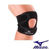 【Mizuno 美津濃】BIO GEAR 高透氣可調式護膝(1只) K2TJ5A0203