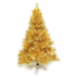 台灣製10尺/10呎(300cm)特級金色松針葉聖誕樹裸樹 (不含飾品)(不含燈)