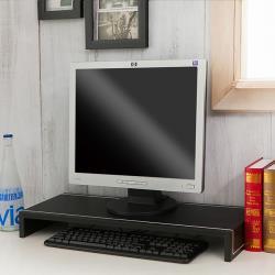 【澄境】加寬65CM手工馬鞍皮革桌上架/螢幕架 -四色可選