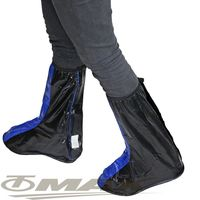 天龍牌超跑賽車型雨鞋套-藍黑