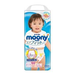 MOONY 日本頂級超薄紙尿褲/褲型尿布 女XL(38片x4包/箱)