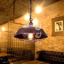 【光的魔法師 Magic Light】鐵鏽色工業控吊燈