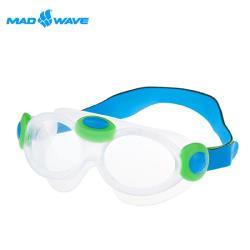 【俄羅斯MADWAVE】大鏡面安全兒童泳鏡KIDS BUBBLE MASK