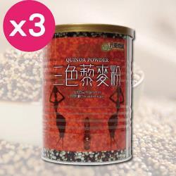 元豪食品 三色藜麥粉3罐組