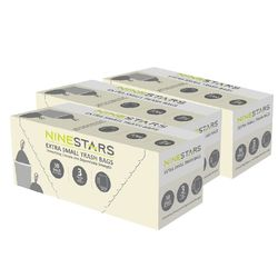 美國NINESTARS 專業收納垃圾袋12L-超值三入組