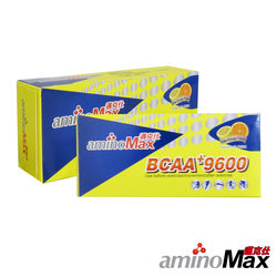 aminoMax 邁克仕 胺基酸BCAA+9600mg 運動賽事能量補給飲 沖泡式(2盒) A045