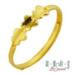 【甜蜜約定】甜蜜純金尾戒FR-S3785