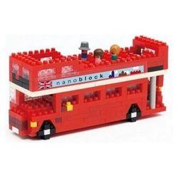 【Nanoblock 迷你積木】倫敦雙層巴士 NBH-080