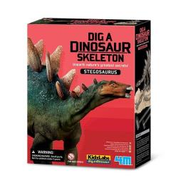 【4M 創意 DIY】Dig a Dino Skeleton/Stegosaurus挖掘劍龍