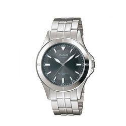 【CASIO】 都會城市新風格指針錶-鐵灰面 (MTP-1214A-8A)