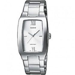 【CASIO】 清新時尚酒桶型指針紳士腕錶-白面 (MTP-1165A-7C2)