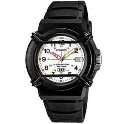 【CASIO】 新版戰鬥軍旅商用指針錶-白面 (HDA-600B-7B)